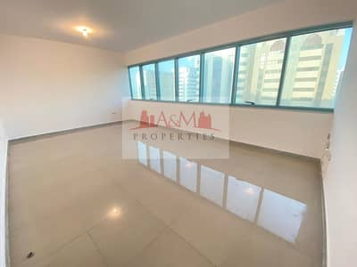 3 Bedroom Flat for Rent in Liwa Street, Abu Dhabi - NO COMMISSION>: Spacious 3 Bedroom Apartment with Balcony and Excellent  finishing for 70