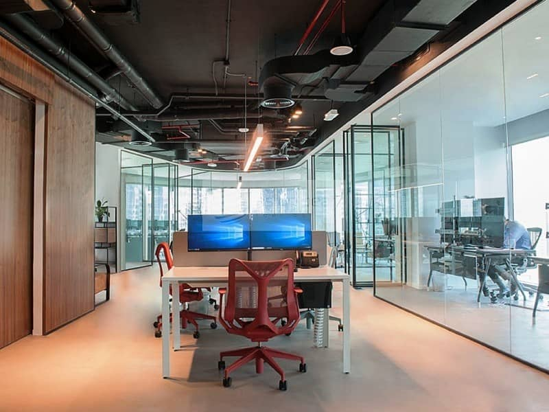Joint Fully Fitted Office Unit | Burj/Canal Views