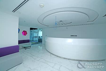 مکتب  للبيع في أبراج بحيرات الجميرا، دبي - Fitted Full Floor| Partitioned |New Furniture