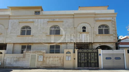 7 Bedroom Villa for Rent in Al Zaab, Abu Dhabi - 7 BEDS SEPERATED ENTRANCE WITH 2 KITCHENS + Driver 180K!