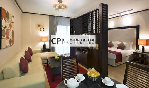 Hotel Apartment for Rent in Bur Dubai, Dubai - All Bills Included | Best Money Value
