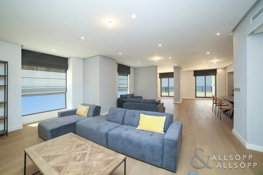 2 Upgraded | Penthouse | Sea View l 5 Beds