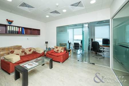 مکتب  للبيع في الخليج التجاري، دبي - Furnished Sales | Lower Floor | Reception