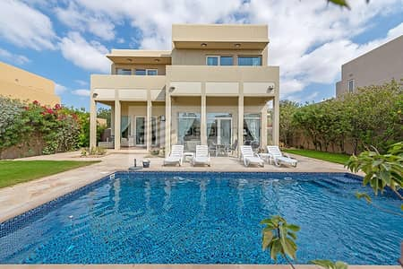 فیلا 3 غرف نوم للايجار في المرابع العربية، دبي - Vacant Now | Type 9 Well Kept Villa | Private Pool