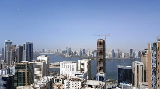 2 Bedroom Flat for Sale in Al Khan, Sharjah - Spacious 2 BD Room Apartment in AL Shahd Tower
