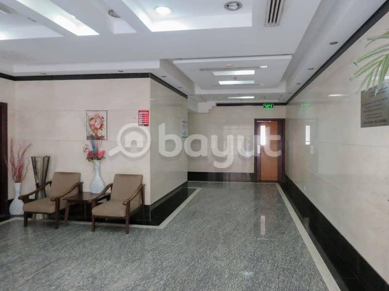 2BHK  For Rent with Spacious Hall in Al Yasmeen Building located in Al Butina area Al Arouba main Road