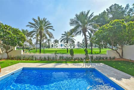 4 Bedroom Villa for Rent in Al Garhoud, Dubai - Golf Membership | Furnished | All Bills Included