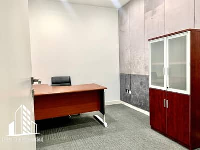 Office for Rent in Airport Street, Abu Dhabi - Office for Rent in Business Location | Furnished and Ready to Occupy