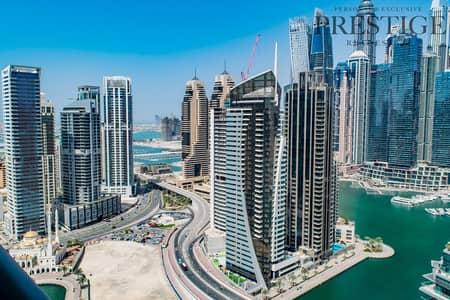 شقة 2 غرفة نوم للايجار في دبي مارينا، دبي - Furnished 2 BR APT in Marina   Marina View