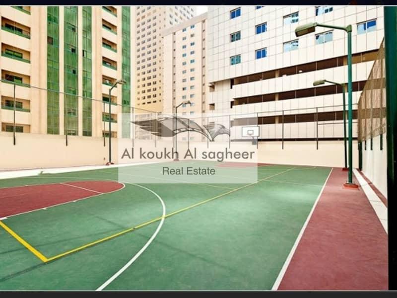 شقة في برج أوركيد النهدة النهدة 2 غرف 44999 درهم - 4491239