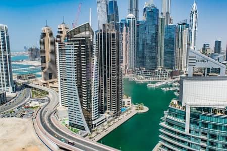 شقة 2 غرفة نوم للايجار في دبي مارينا، دبي - Upgraded
