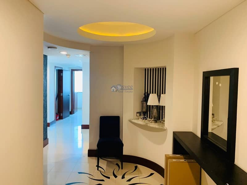 12 Reduced Rent Luxuary 2Br Duplex Apartment for Rent  in Jumeirah Living