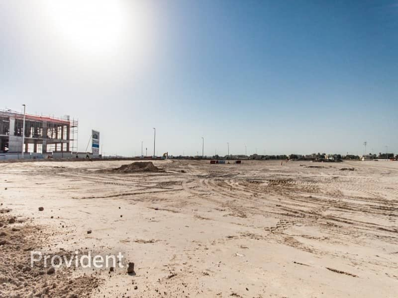 2 Corner G+1 Villa Plot in Al Wasl | Freehold