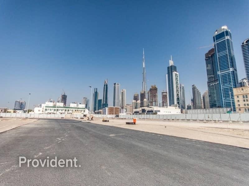 6 Corner G+1 Villa Plot in Al Wasl | Freehold
