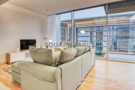 فلیٹ 2 غرفة نوم للايجار في جزيرة بلوواترز، دبي - Fully Furnished 2BR | Brand New | Full Sea View