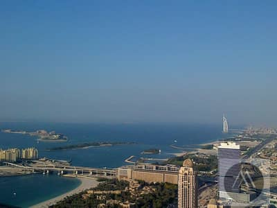 4 Bedroom Penthouse for Sale in Dubai Marina, Dubai - Furnished Duplex| 4 BR + Maid's | Sea View | Golf Course View