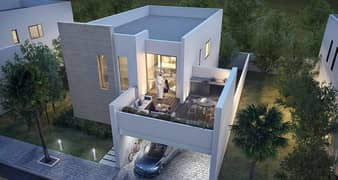 for sale a beautiful villa in a good compound in shariah +(free service for life )+(easy payment plan)