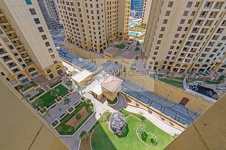 Studio for Rent in Jumeirah Beach Residence (JBR), Dubai - Spacious and Light Furnished Studio in Murjan