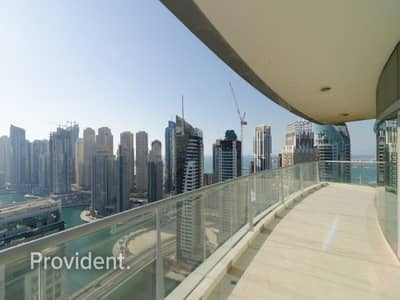 2 Bedroom Apartment for Sale in Dubai Marina, Dubai - Large 2B/R + Maid's Room with Full Marina View