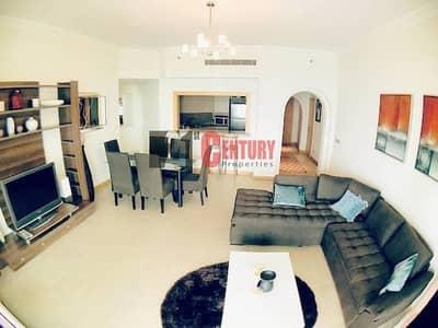 فلیٹ 2 غرفة نوم للايجار في نخلة جميرا، دبي - Furnished & Well Maintained 2 BR High Floor