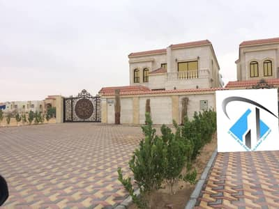 Villa for Sale in Al Mowaihat, Ajman - Villa on the street directly finishing sophisticated residential commercial villa of the most luxurious villas in Ajman market