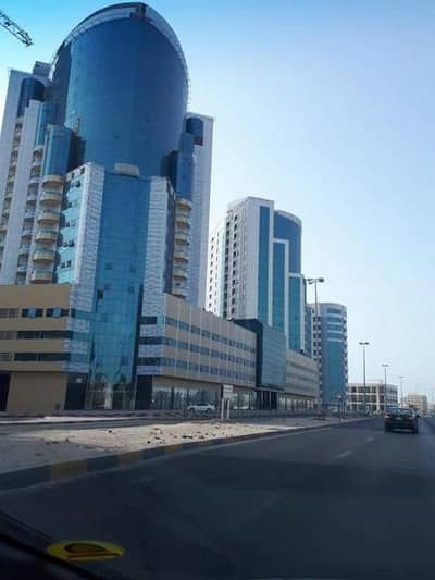 1 Bedroom Flat for Rent in Al Bustan, Ajman - 1 BHK for rent with parking and full open view on sea cheapest price