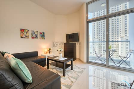 2 Bedroom Apartment for Rent in Dubai Marina, Dubai - Furnished | 2 Bedroom | w/kitchen appliances