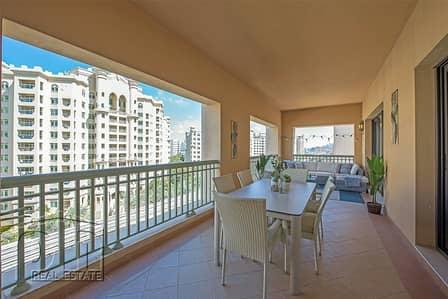 فلیٹ 3 غرف نوم للايجار في نخلة جميرا، دبي - Luxury A type/Vacant Now/Stunning