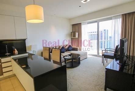 شقة فندقية 1 غرفة نوم للايجار في دبي مارينا، دبي - 5% VAT inclusive |  Highest Floor Full Marina view