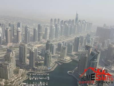 شقة 1 غرفة نوم للبيع في دبي مارينا، دبي - High Floor Large Size Well Maintained