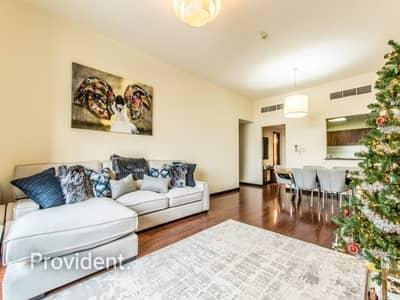 شقة 2 غرفة نوم للايجار في أبراج بحيرات الجميرا، دبي - Exclusive and Managed | Captivating 2-bedroom