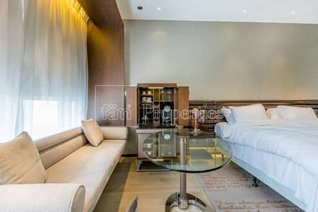 Hotel Apartment for Sale in Business Bay, Dubai - High Floor Serviced & Furnished Studio Below OP!
