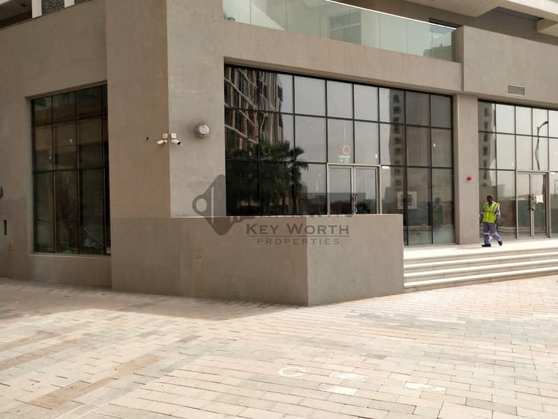 2 Opp. Building entrance Shops Chiller free in Jadaf Waterfront