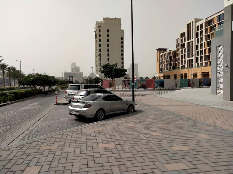9 Opp. Building entrance Shops Chiller free in Jadaf Waterfront
