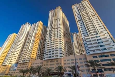 2 Bedroom Flat for Rent in Al Rashidiya, Ajman - Great opportunity for rent two bedroom apartment + hall + 3 bathroom + park + view in pearl towers