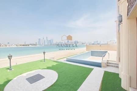 6 Bedroom Villa for Sale in Palm Jumeirah, Dubai - 6 Bedroom + M | Brand New | Custom Villa