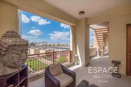 فلیٹ 2 غرفة نوم للبيع في نخلة جميرا، دبي - Extended Terrace | Vacant May 2020