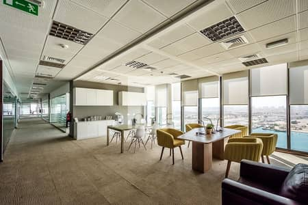 Office for Rent in Al Reem Island, Abu Dhabi - Ideally Located | Fitted Office | Sea View