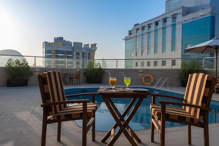Affordable Two Bedroom  Apartment! All Inclusive In Albarsha