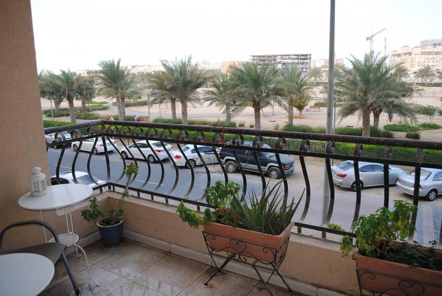 Luxury 1 BR Apt | Spacious Balcony | Park View | JVC