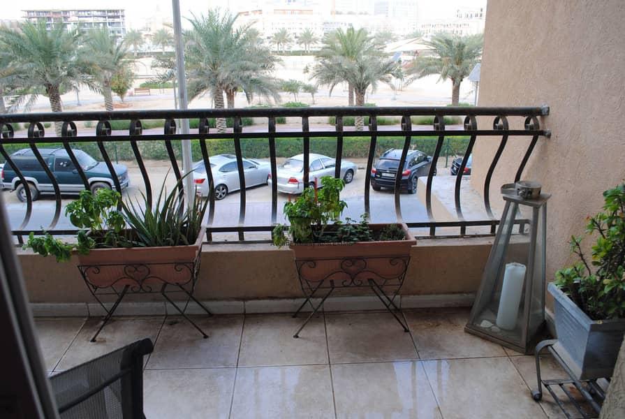 2 Luxury 1 BR Apt | Spacious Balcony | Park View | JVC