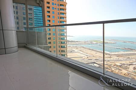 2 Bedroom Apartment for Sale in Dubai Marina, Dubai - Sea Views | Large 2 Bedroom | High Floor