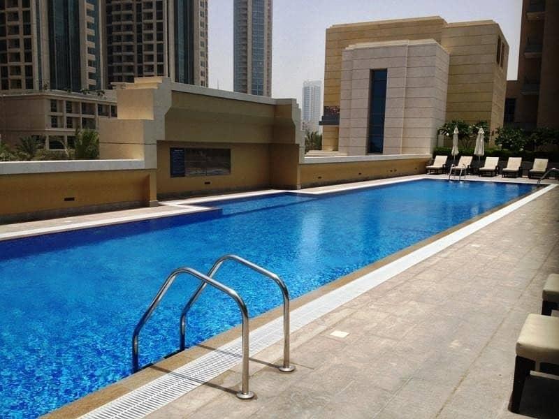 14 Claren | 1 Bed + Study | Boulevard & Pool View