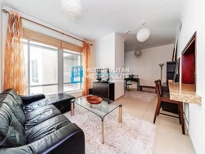 شقة 1 غرفة نوم للايجار في وسط مدينة دبي، دبي - Huge Layout I Furnished I Chiller Free I Burj View