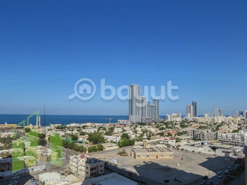 BIGGEST 1 BHK APARTMENT IN AJMAN ONE TOWERS WITH PARKING FOR SALE