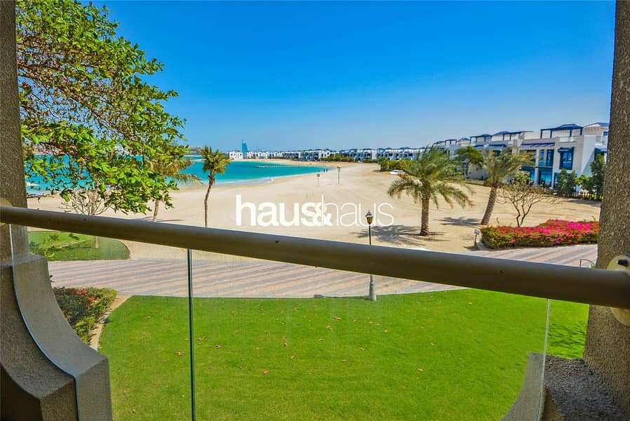 2 Large Balconys Beach View | Massive Living Space