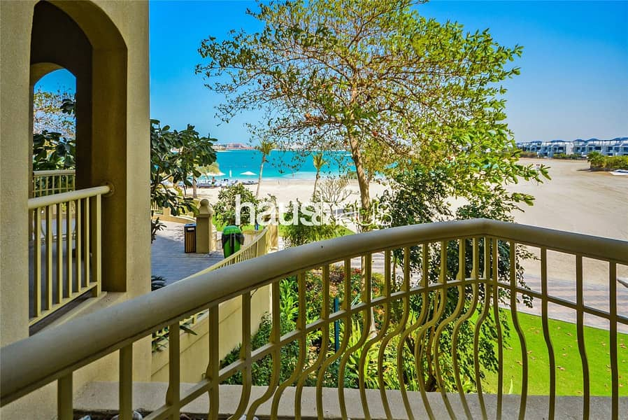 10 2 Large Balconys Beach View | Massive Living Space