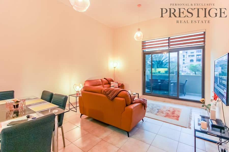 Fully Furnished | Links Canal | 1 Bed | 1.5baths