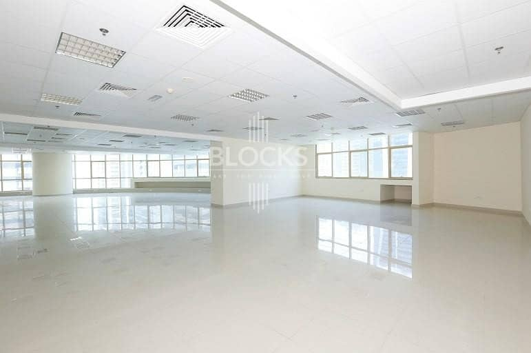 12 Vacant Fitted Office Space in Jumeirah Lake Towers.