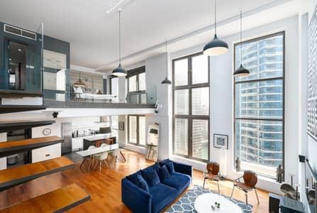 1 Bedroom Apartment for Sale in Jumeirah Beach Residence (JBR), Dubai - Fantastic One Bedroom Loft|Full Marina View